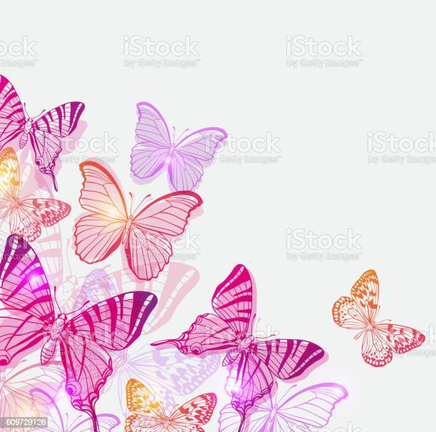 Background with pink and violet butterflies vector id609729126?b=1&k=6&m=609729126&s=612x612&h=w1wucbszstdn ggndxjz2wrwejh6y  ksp vujcced0=