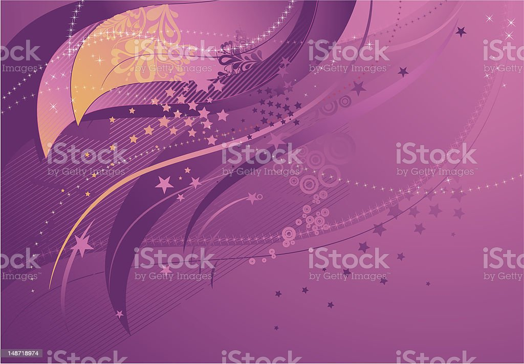 background with pink forms, vector royalty-free stock vector art