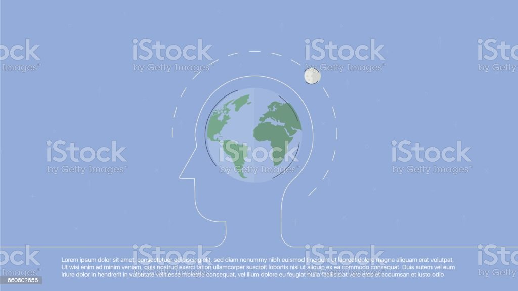 Background with planet royalty-free background with planet stock vector art & more images of backgrounds