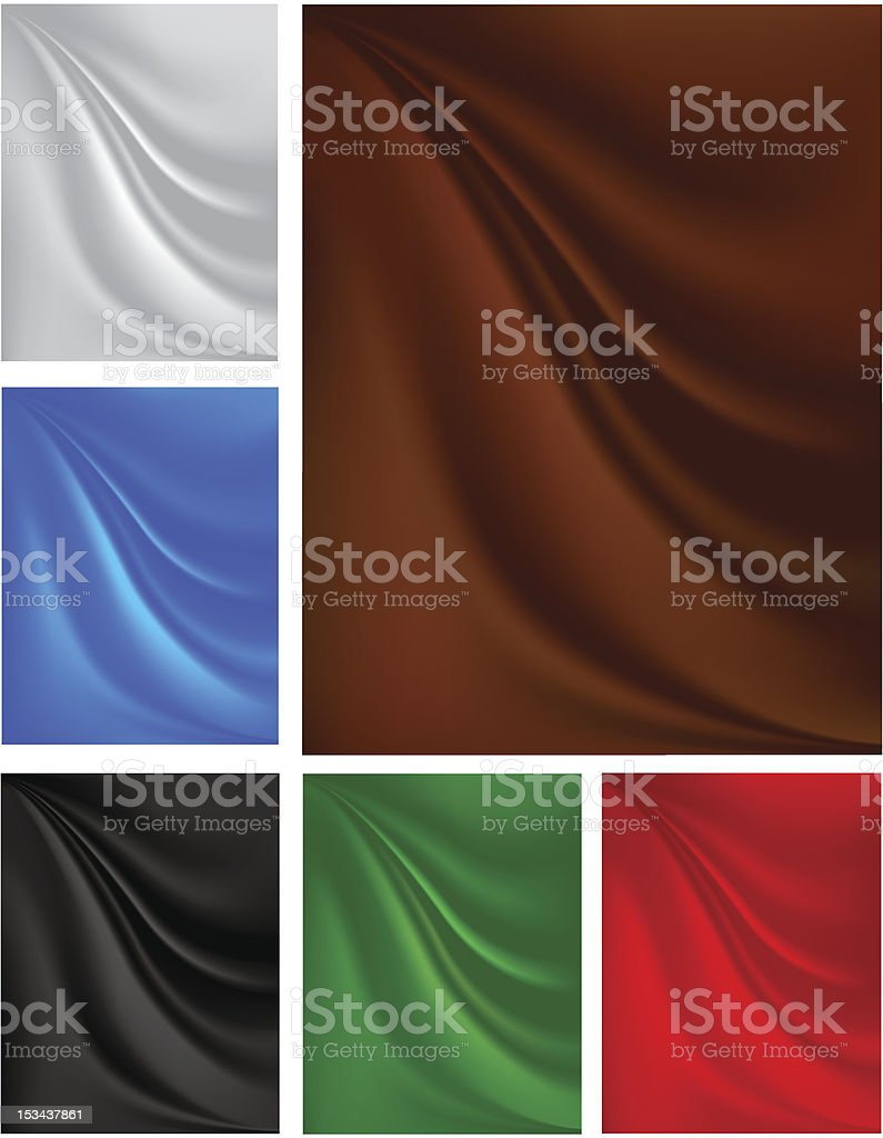 background with pleats on the fabric royalty-free stock vector art