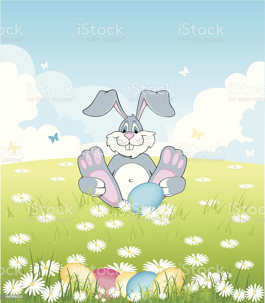 background with rabbit royalty-free background with rabbit stock vector art & more images of animal