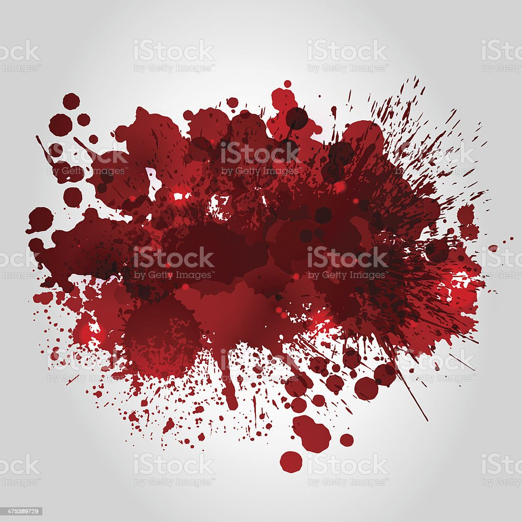Background with red blots vector art illustration