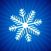 Background with snowflake