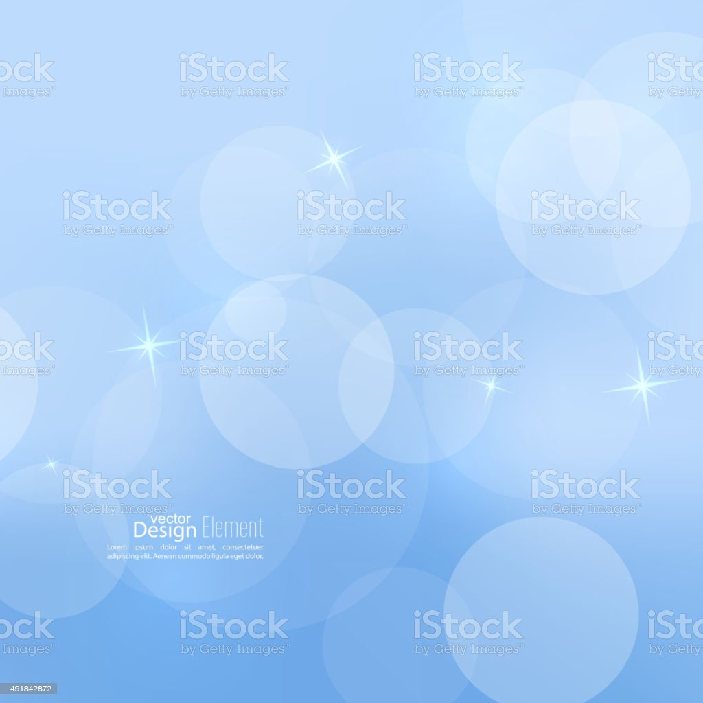 background with sparkle stars vector art illustration