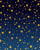 istock Background with stars 1175370942