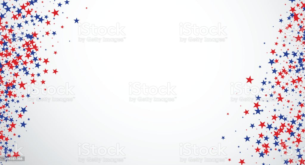Background with stars. - Royalty-free American Culture stock vector