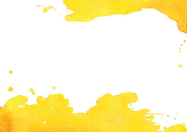 hintergrund mit gelbe aquarell ort - pastellgelb stock-grafiken, -clipart, -cartoons und -symbole