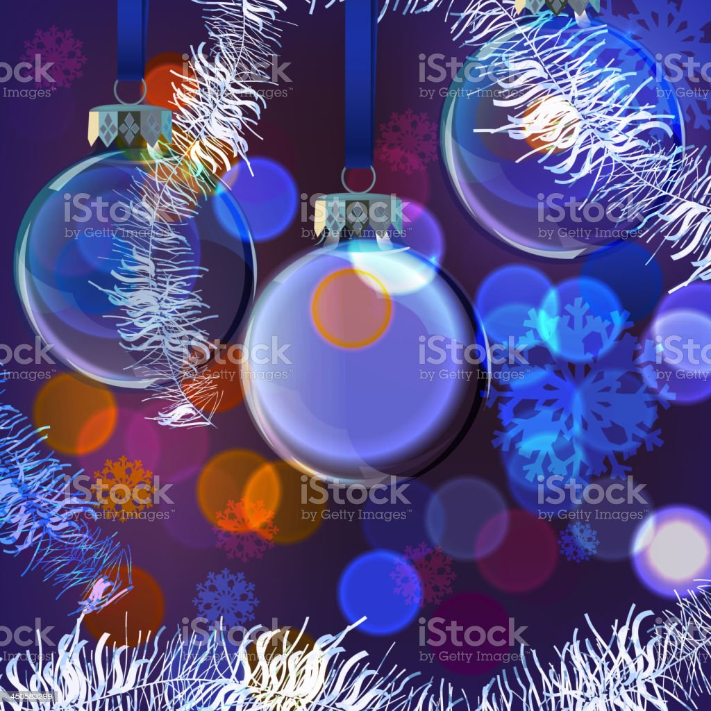 Background_Evening_Balls royalty-free stock vector art