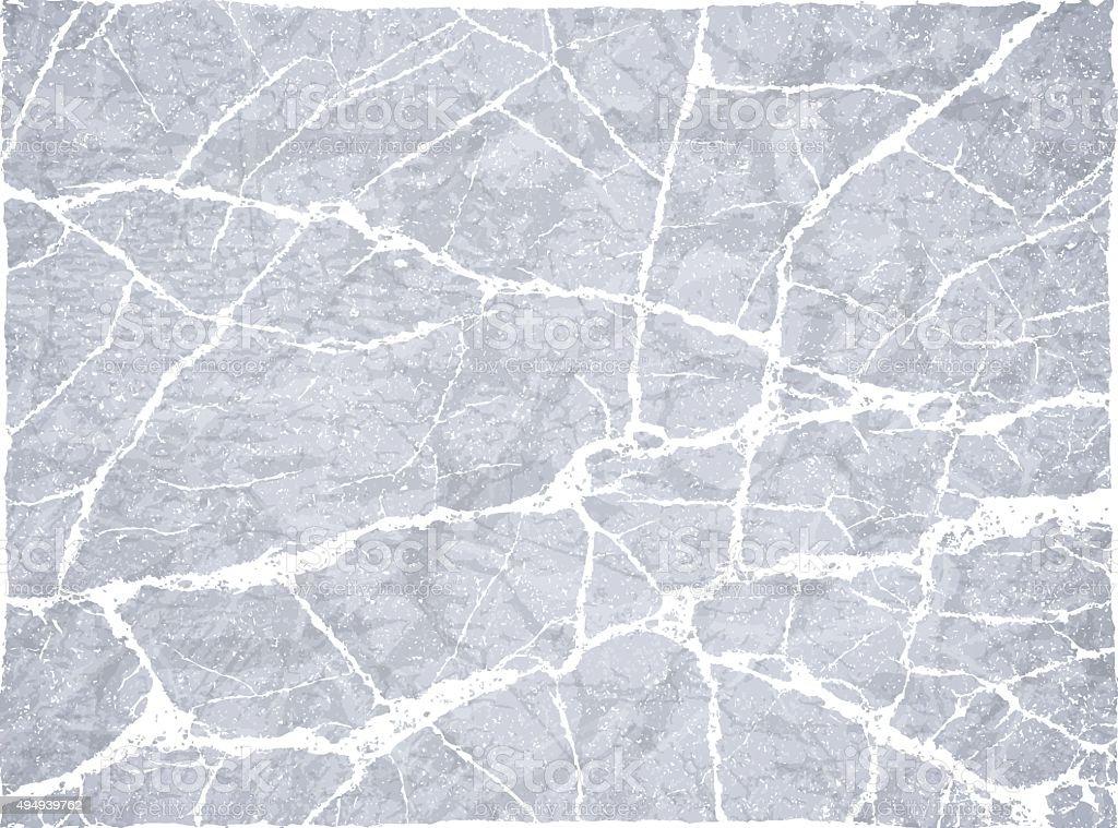 Piedra fondo de hormigón roto rock grunge agrietado - ilustración de arte vectorial