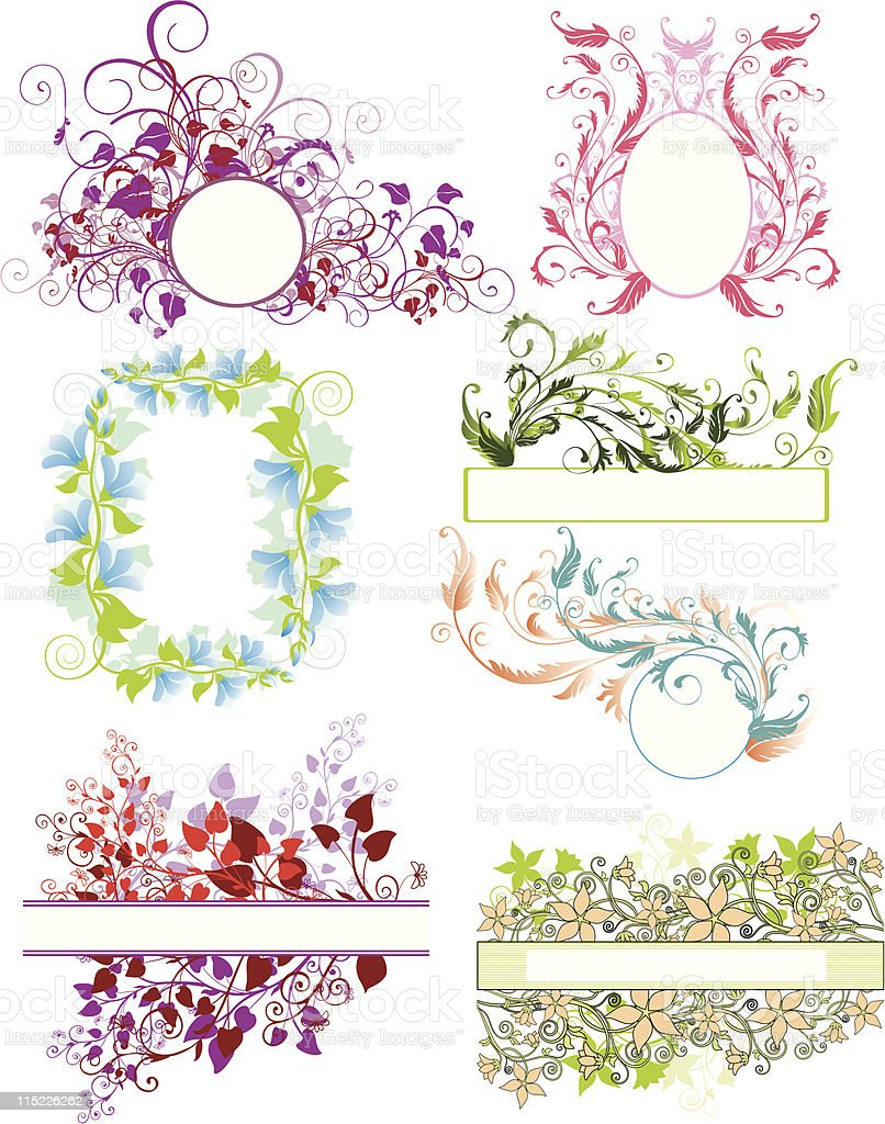 backgrounds with space for text royalty-free stock vector art
