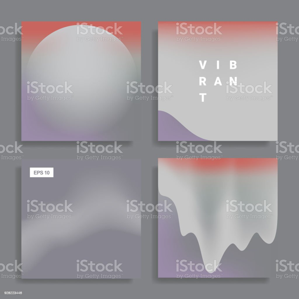 backgrounds with vibrant gradient vector art illustration