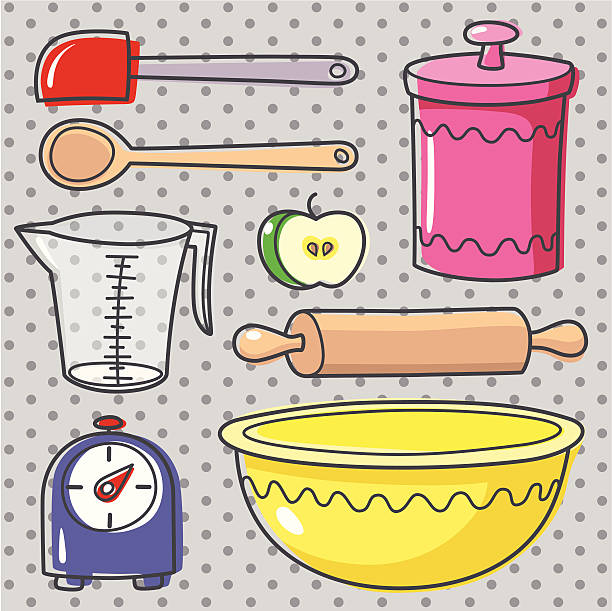 backing. - mixing bowl stock illustrations, clip art, cartoons, & icons