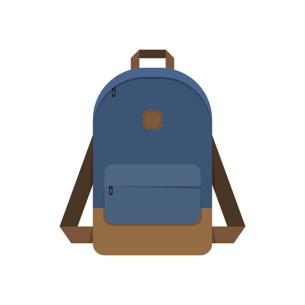 Bекторная иллюстрация Backpack, school bag