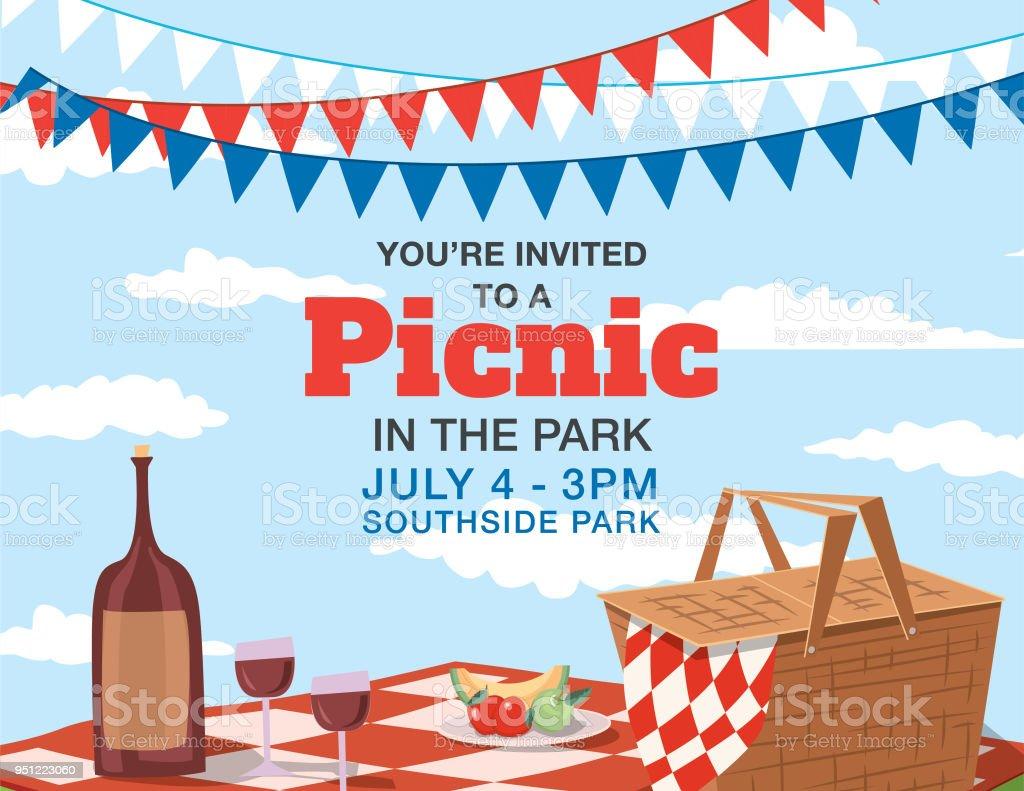 backyard bbq background invitation template stock vector art more