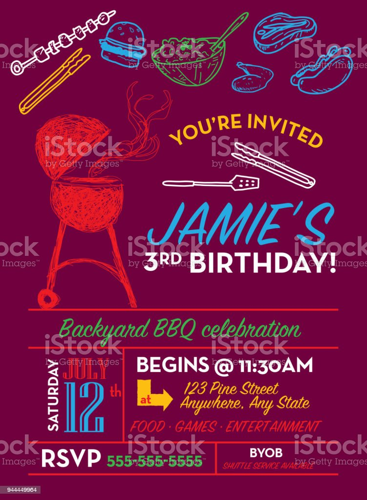 birthday barbeque invitations bbq birthday invitation bbq party