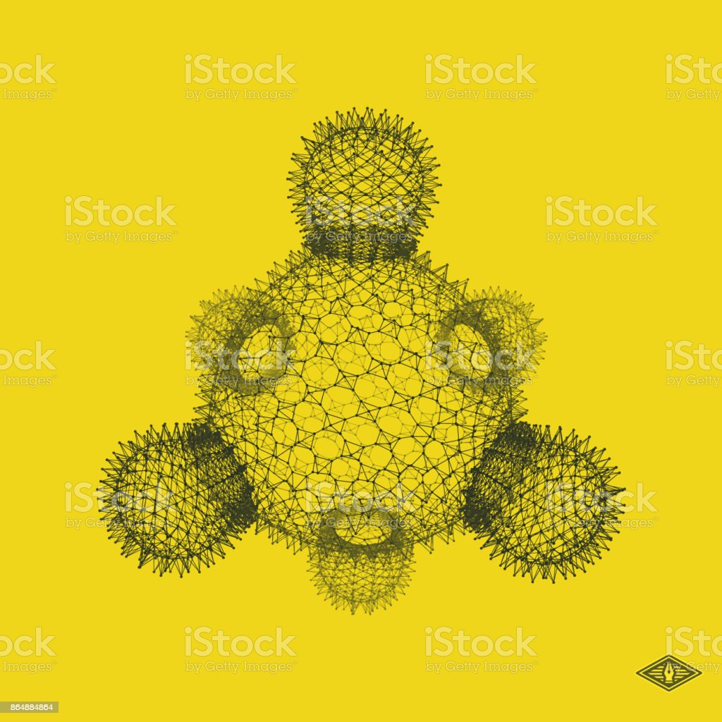 Ilustración De Bacterias Virus Diseño Gráfico Ilustración De