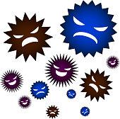 Bad bacteria gathering