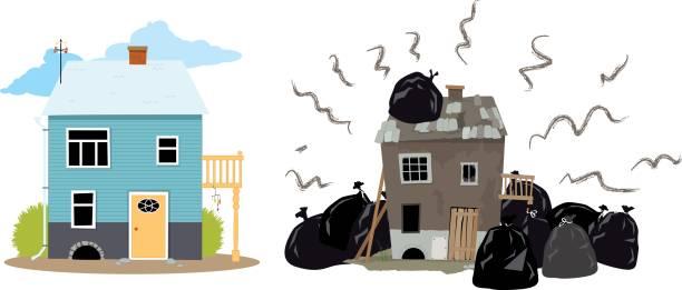 382 Bad Neighbours Illustrations & Clip Art