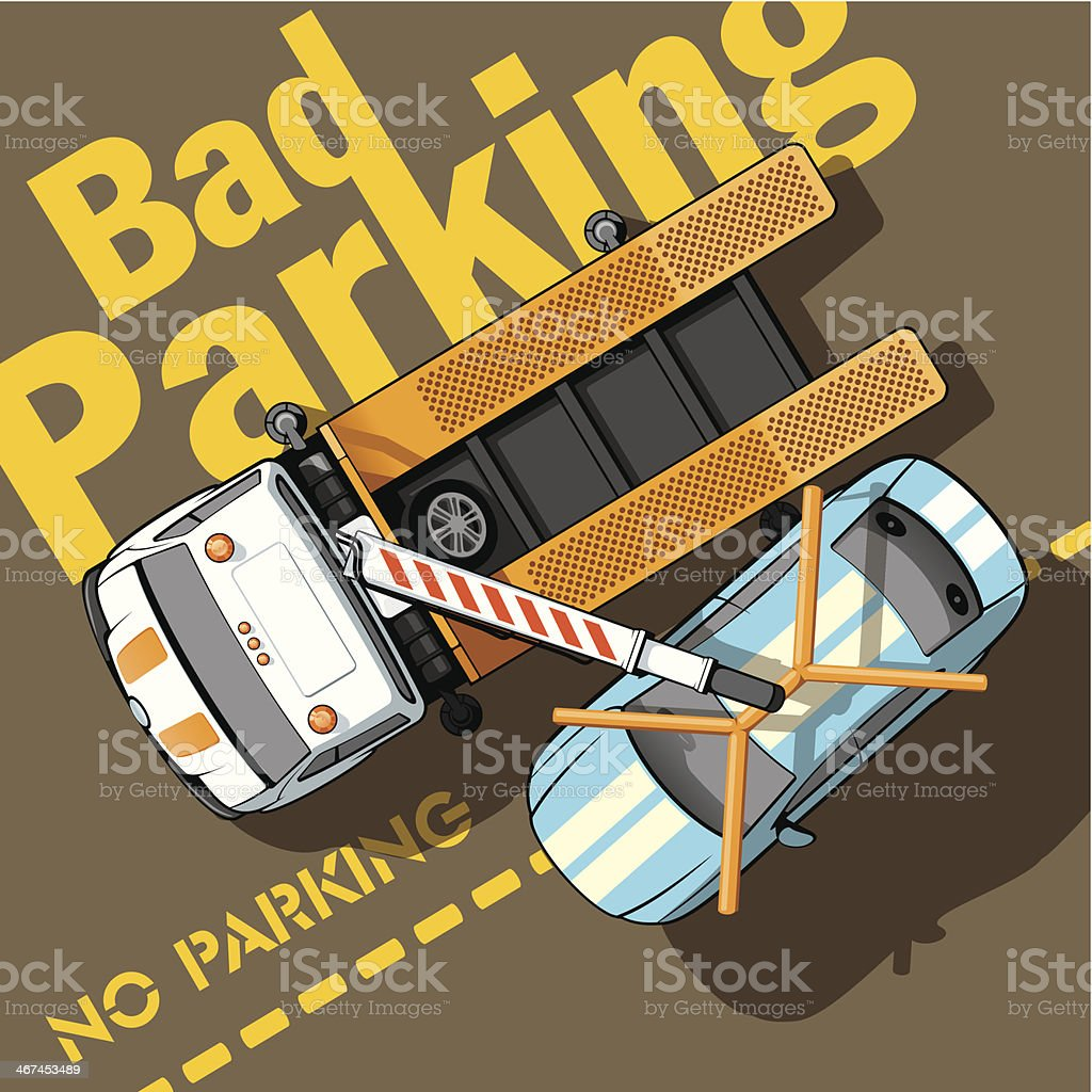 Bad parking royalty-free bad parking stock vector art & more images of assistance