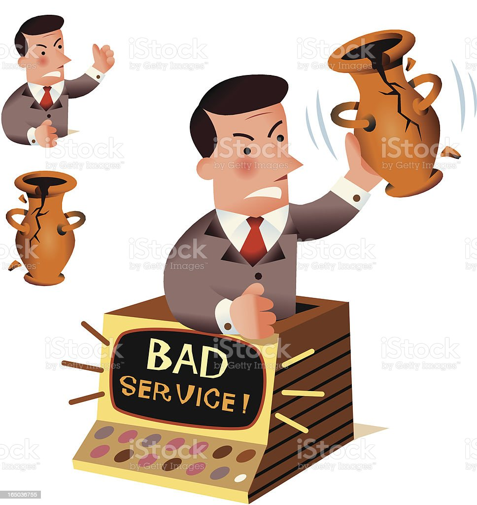 Bad Service royalty-free bad service stock vector art & more images of adult
