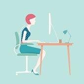 Bad Sitting Posture