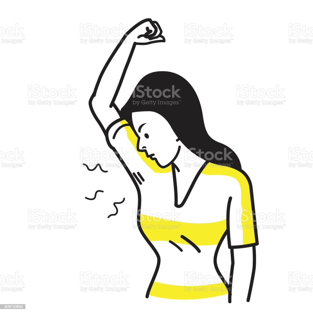 bad smell her armpit stock vector art more images of adult rh istockphoto com small vector images small vector optimization