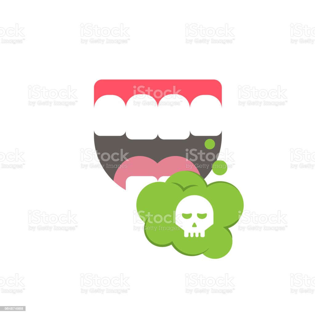 Bad smells. Isolated art on white background. royalty-free bad smells isolated art on white background stock vector art & more images of abstract