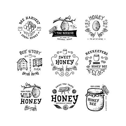 Badge Honey