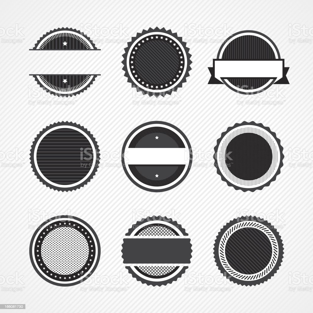 Badge icons royalty-free badge icons stock vector art & more images of award