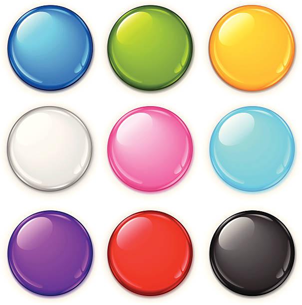 badge set - 按鈕 幅插畫檔、美工圖案、卡通及圖標