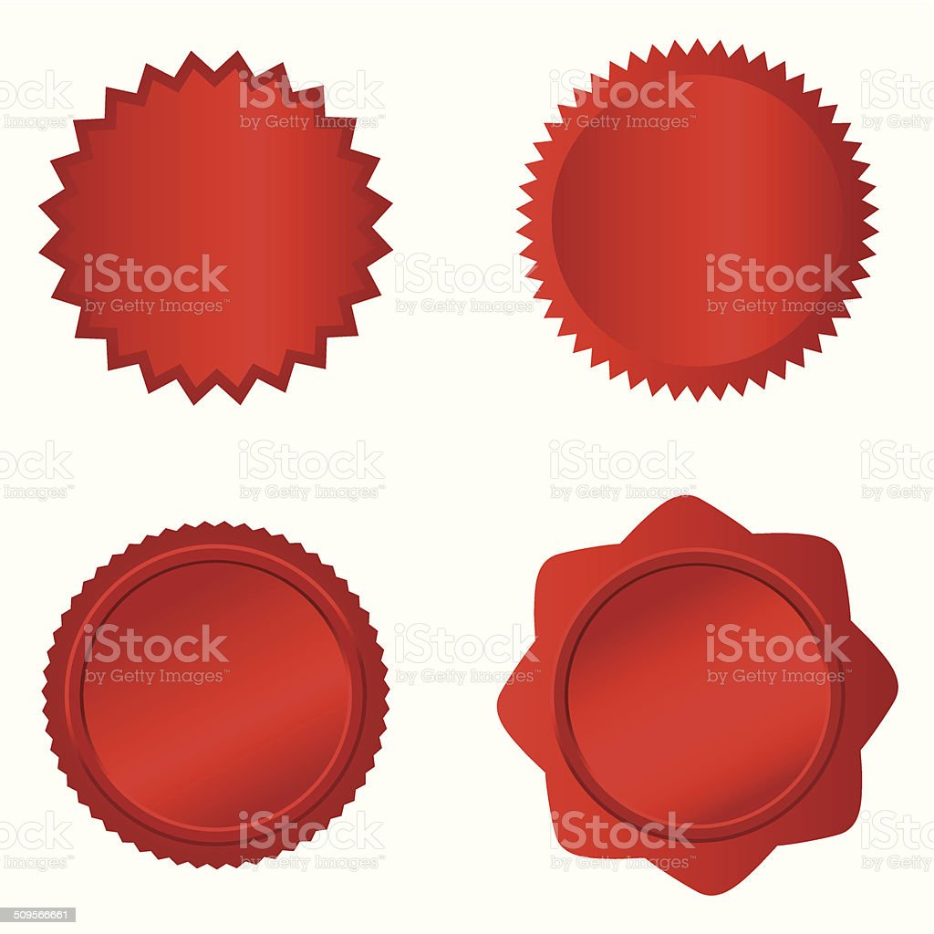 Badge Set- vector vector art illustration