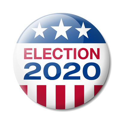Badge Usa Election 2020 Stock Illustration - Download Image Now