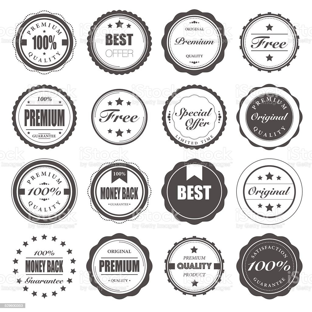 Badge royalty-free stock vector art