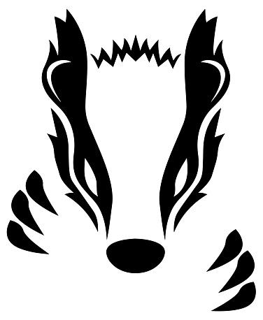 Badger Vector Illustration