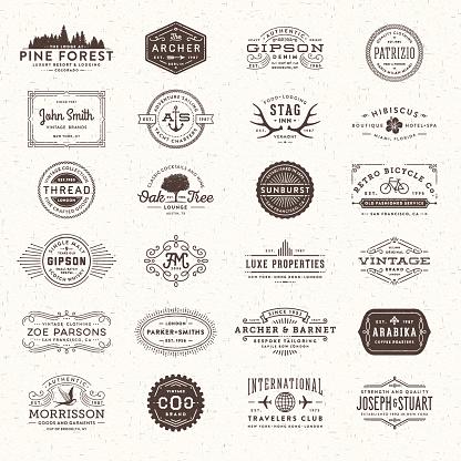 Badges, Labels and Frames