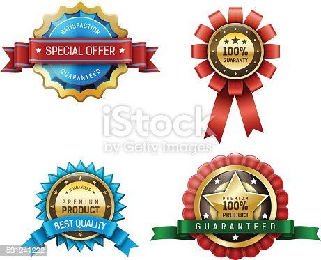 istock badges, labels 531241222