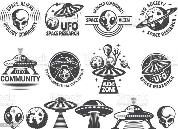 Badges set with ufo and aliens vector design templates with place for vector id997548848?b=1&k=6&m=997548848&s=612x612&h=npgmtoqigu8i nw9lwv3tqs3nt6sfuurgk tmkrmcrk=