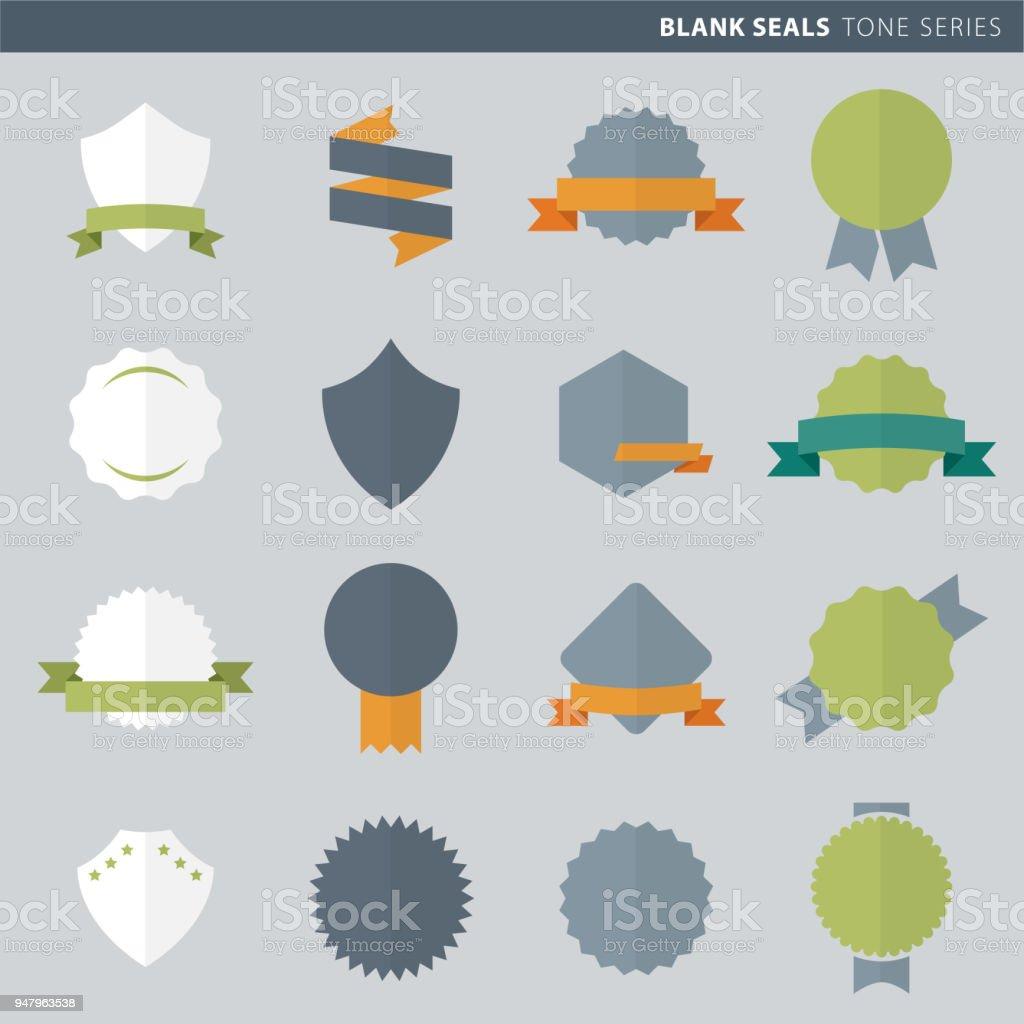 Badges & sticker design vector art illustration