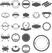 Vector File of Badges Set