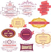 Vector File of Badges