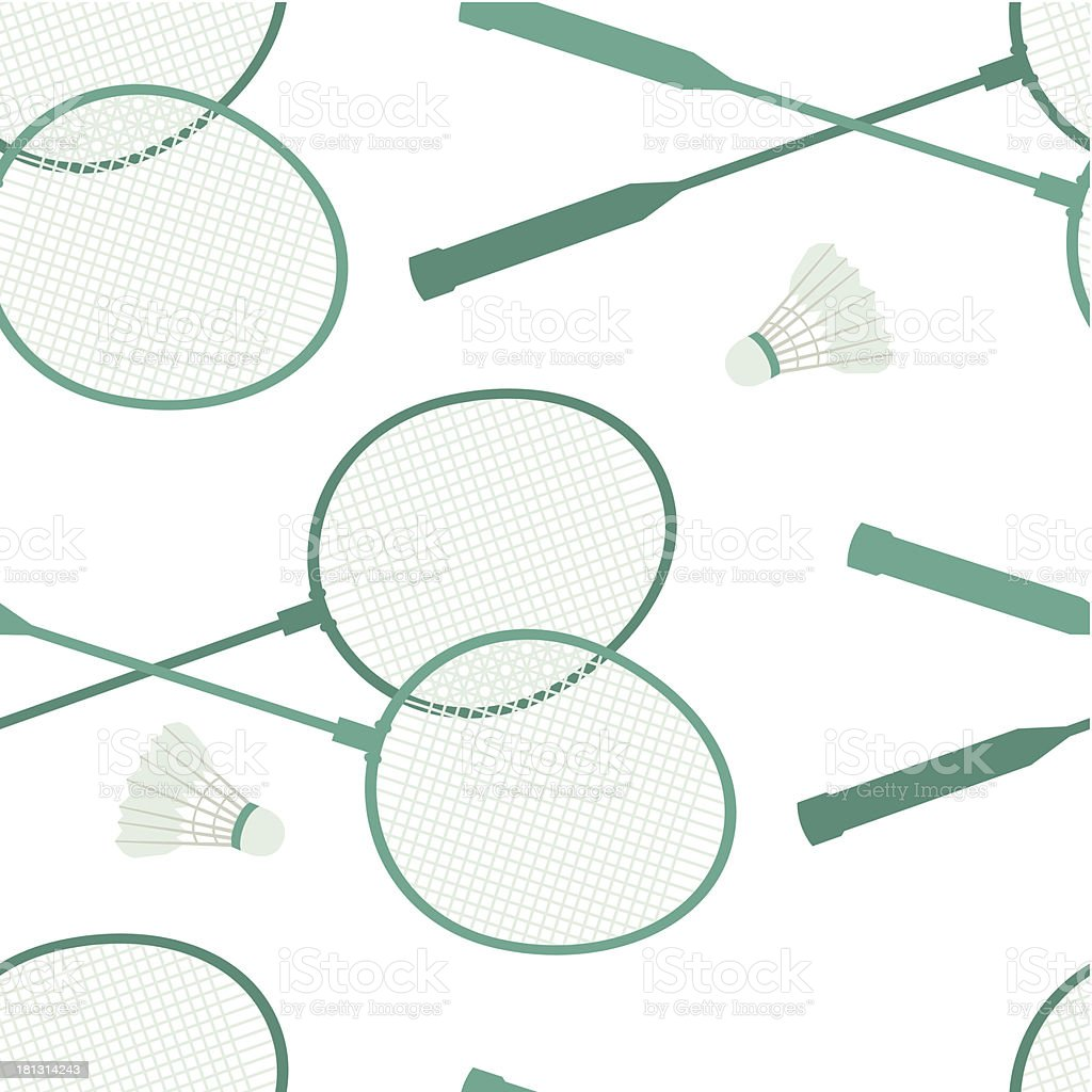 Badminton background royalty-free stock vector art