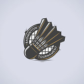 Badminton Emblem