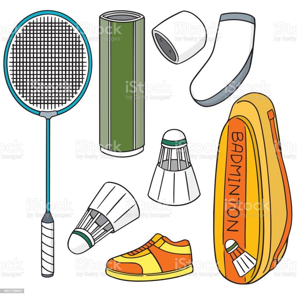 badminton utrustning royaltyfri badminton utrustning-vektorgrafik och fler  bilder på aktivitet 67a394e8fb64f
