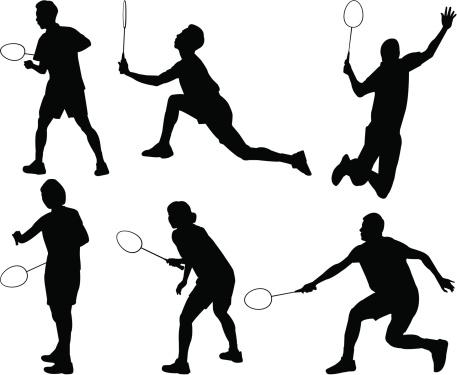 Badminton Silhouette