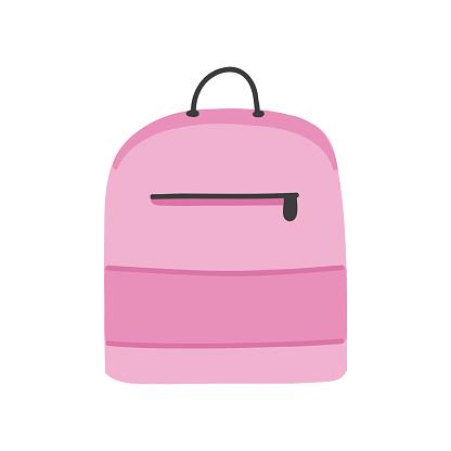 Bag Cartoon Style Icon. Colorful Symbol Vector Illustration