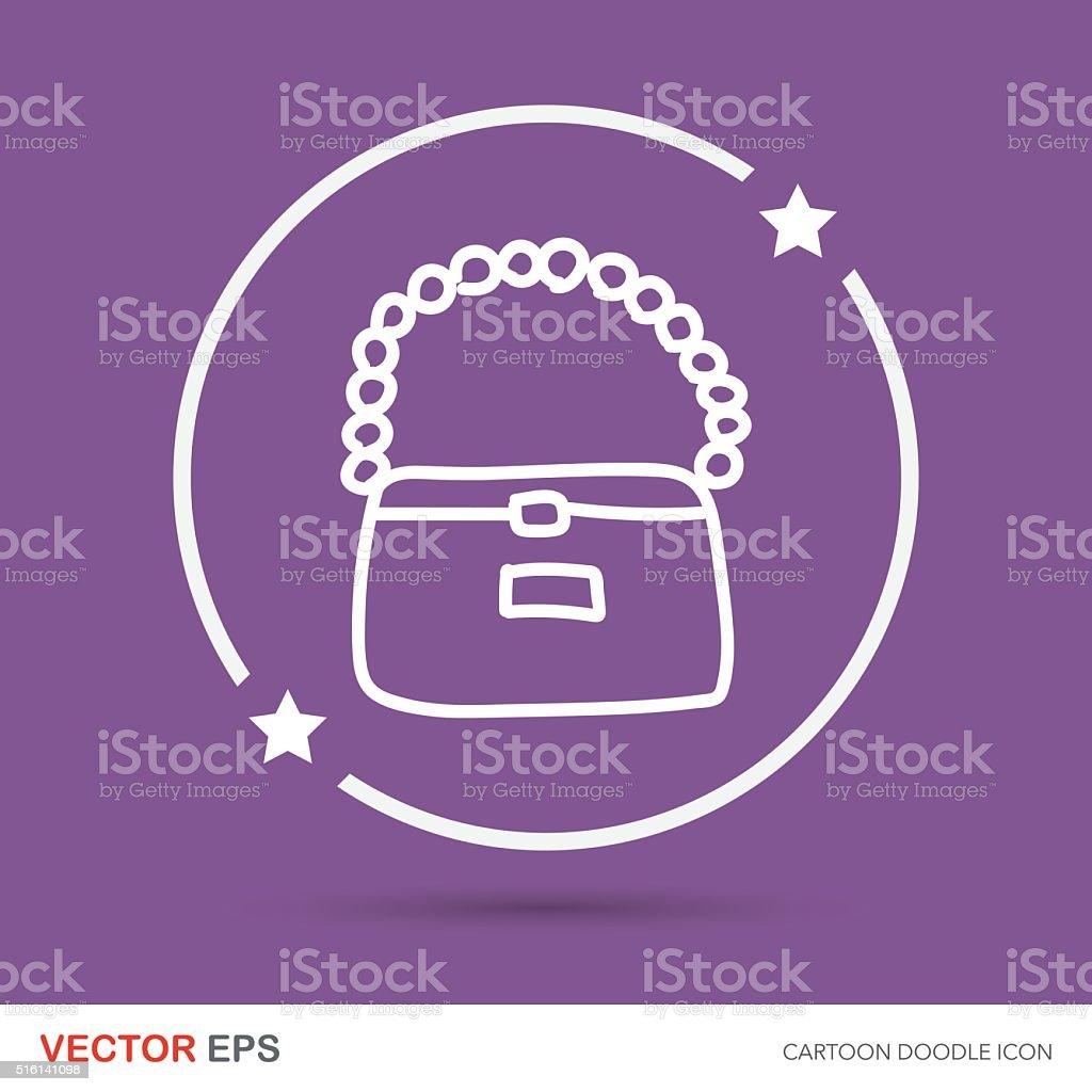 bag color doodle vector art illustration