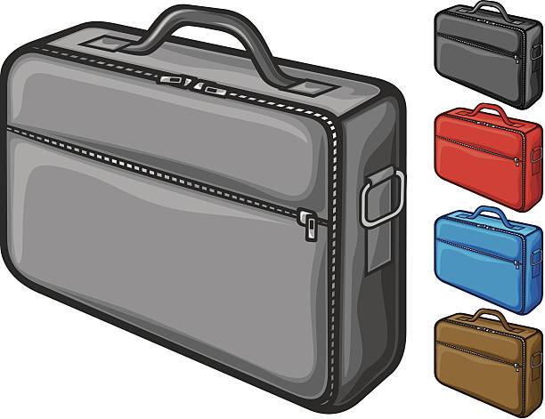 tasche für laptop - laptoptaschen stock-grafiken, -clipart, -cartoons und -symbole