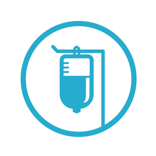 IV bag icon IV bag icon. Each element in a separate layers. Very easy to edit vector EPS10 file. infused stock illustrations