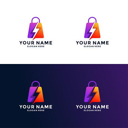 Bag logo template