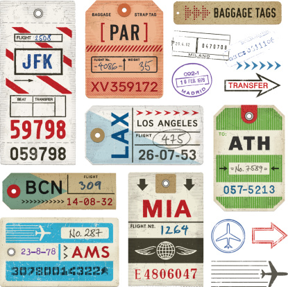 Baggage Tags and Stamps